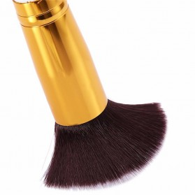 Make Up Brush 8 PCS - MAG5444 - Black Gold - 4