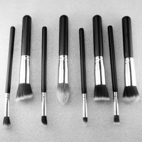 Make Up Brush 8 PCS - MAG5444 - Black Gold - 6