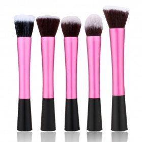Beauty Kit Brush Make Up 5 Set - Rose
