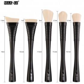 MAANGE Kuas Make Up Profesional 5 PCS - MAG9302 - Black - 5