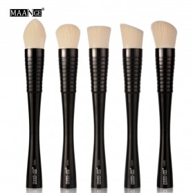 MAANGE Kuas Make Up Profesional 5 PCS - MAG9301 - Black