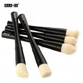 MAANGE Kuas Make Up Profesional 5 PCS - MAG9301 - Black - 2