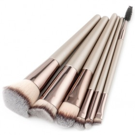 Kuas Aplikator Make Up Profesional 6 PCS - MAG5168 - Gray