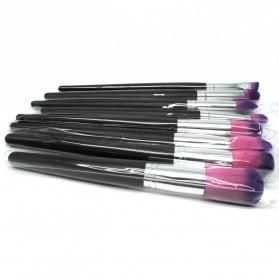 Kuas Aplikator Make Up Profesional 8 PCS - Purple/Pink - 2