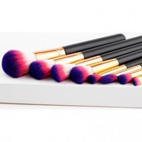 Kuas Aplikator Make Up Profesional 8 PCS - Purple/Pink - 3