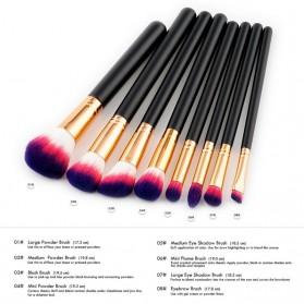 Kuas Aplikator Make Up Profesional 8 PCS - Purple/Pink - 5