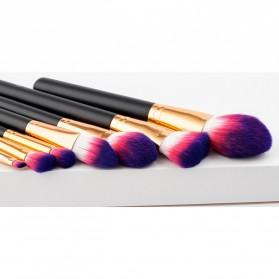 Kuas Aplikator Make Up Profesional 7 PCS - Purple/Pink - 3