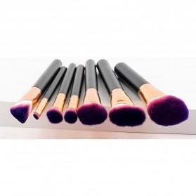Kuas Aplikator Make Up Profesional 7 PCS - Purple/Pink - 5