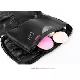 MSQ Tas Make Up Case Bag Nylon - Black - 3