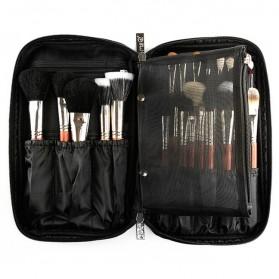 MSQ Tas Make Up Case Bag Nylon - Black - 4