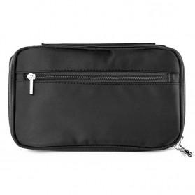 MSQ Tas Make Up Case Bag Nylon - Black - 5