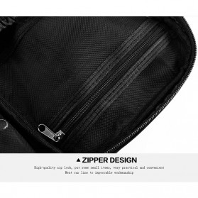 MSQ Tas Make Up Case Bag Nylon - Black - 6