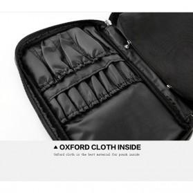 MSQ Tas Make Up Case Bag Nylon - Black - 8