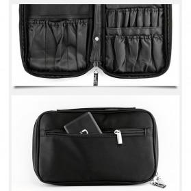 MSQ Tas Make Up Case Bag Nylon - Black - 10