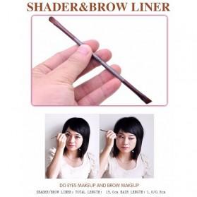 MSQ Make Up Brush Model Kabuki 6 PCS - Coffee - 9