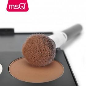 MSQ Make Up Brush Synthetic Hair 15 PCS - Black - 2