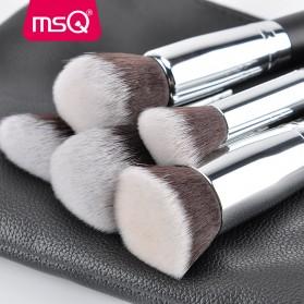 MSQ Make Up Brush Synthetic Hair 15 PCS - Black - 4