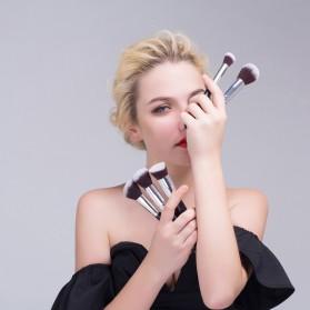 MSQ Make Up Brush Synthetic Hair 15 PCS - Black - 5
