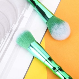 Make Up Brush Model Bamboo 10 PCS - Green - 6