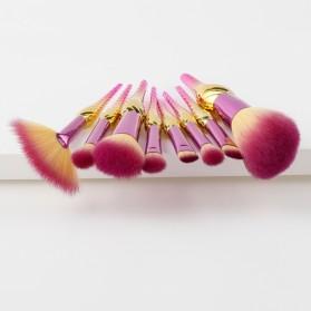 Make Up Brush Model Conch 8 PCS - Pink - 2