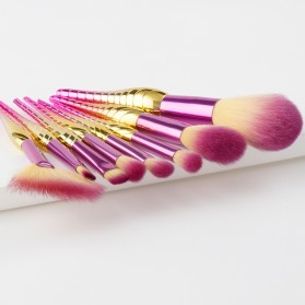 Make Up Brush Model Conch 8 PCS - Pink - 5