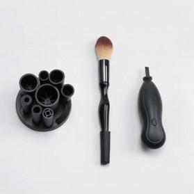 Pembersih Kuas Makeup Elektrik - XSQ-01 - Black - 10