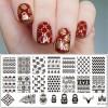 Nail Art & Stiker Kuku - Cetakan Stamping Nail Art - BP-L018
