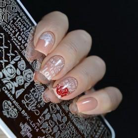 Cetakan Stamping Nail Art - BP-L018 - 4