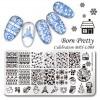 Cetakan Stamping Nail Art - BP-XL008