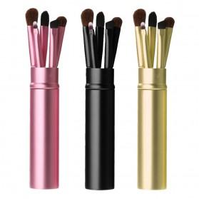 Kuas Eyeshadow Make Up - 5 PCS - Black - 2