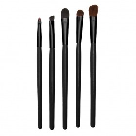 Kuas Eyeshadow Make Up - 5 PCS - Black - 5