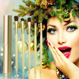 Kuas Eyeshadow Make Up - 5 PCS - Black - 6