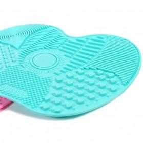 Rinse Pembersih Kuas Make Up Silicone Pad - Pink - 2