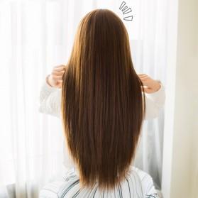 Hair Extension Wig Rambut Palsu Model Natural Straight 60cm - Brown - 8