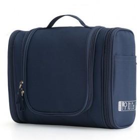 Tas Organizer Make Up Travel Bag - Navy Blue
