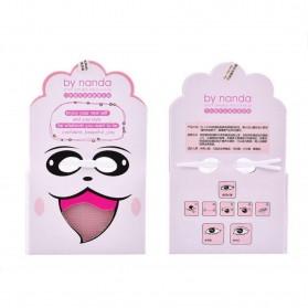 Skot Mata Double Sided Eyelid Sticker Strip 3 PCS - Pink - 2
