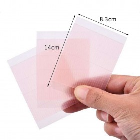 Skot Mata Double Sided Eyelid Sticker Strip 3 PCS - Pink - 4