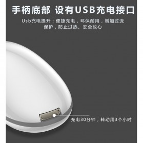 Pembersih Kuas Makeup Electric Brush Spin Cleaner Washing Tool - IF00232 - Black - 5