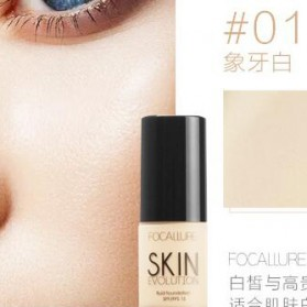 Focallure Flawless Liquid Foundation - No. 1 - Ivory White