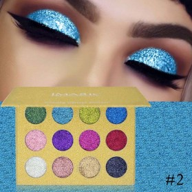 IMAGIC Glitter Eye Shadow Palette 12 Color