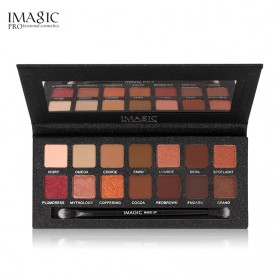 Imagic Eye Shadow 14 Warna dengan Brush - EY319 - Multi-Color