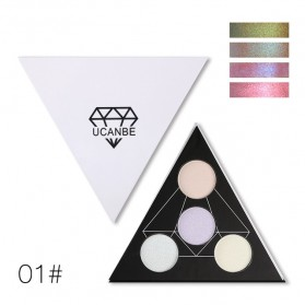 UCANBE Glitter Eye Shadow Palette Holographic - CD-01