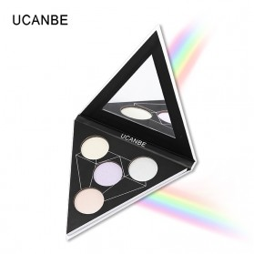 UCANBE Glitter Eye Shadow Palette Holographic - CD-01 - 4
