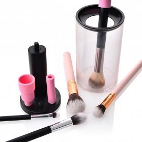 GUJHUI Pembersih Kuas Makeup  Elektrik Brush Cleaner - Black - 3