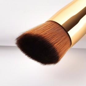 GUJHUI Brush Make Up 2 PCS - Red - 4