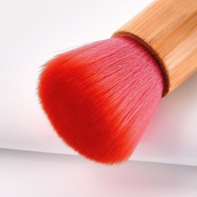 GUJHUI Brush Make Up 2 PCS - Red - 6