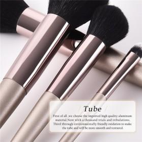 GUJHUI Set Kuas Make Up Tube 9 PCS - T-09-013 - Beige - 4