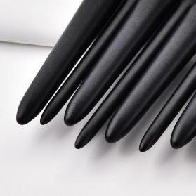 GUJHUI Set Kuas Aplikator Make Up 11 PCS - PVC-11 - Black - 7