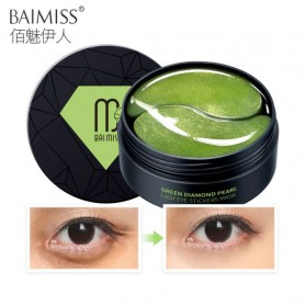 BAIMISS Masker Mata Moisturizing Collagen Pearl Eye Mask - 60 PCS