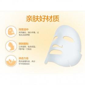 BEAUTY HOST Masker Wajah Vitamin C Extract 25g 10 PCS - Orange - 3